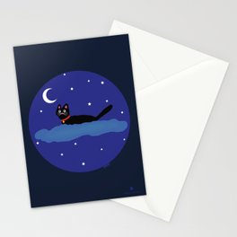 Aduki in the sky with ovnis Stationery Cards