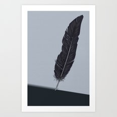 Feathered Edge. Art Print