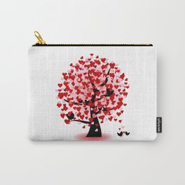Valentine tree Carry-All Pouch