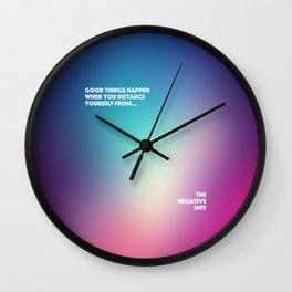 Good Things Happen Wall Clock