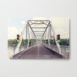 Bridge to Hope Metal Print