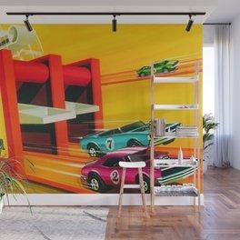 Vintage Hot Wheels Redline Dual-Lane Rod Runner Racing Poster Trade Print Wall Mural