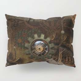 Noble steampunk design Pillow Sham