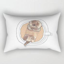 The Tea Otter Rectangular Pillow