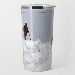 Coastal Snowbank Travel Mug