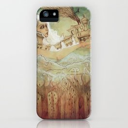 The sky train  iPhone Case