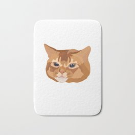 Orange Tabby Cat Bath Mat