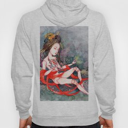 Oriental Beauty: Goddess of Nature Hoody