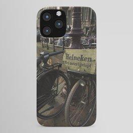 Heineken Bike on the Amsterdam Canals iPhone Case