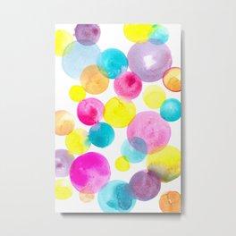 Confetti paint Metal Print