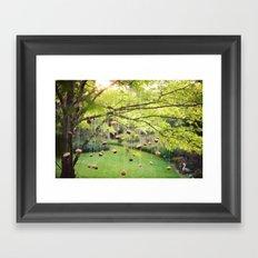 Cupcake Tree Framed Art Print