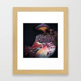 Hadal Borealis Framed Art Print
