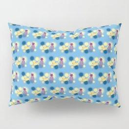 The Sleepy Sheep & Sunbathing Bear Pattern Pillow Sham