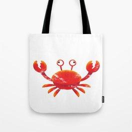 Crab Orange Animal Tote Bag