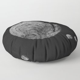 Old Time Rock 'N' Roll Floor Pillow