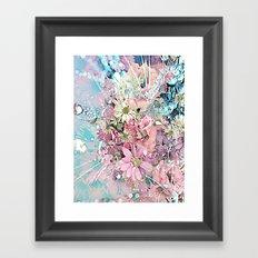 Party Flowers Framed Art Print