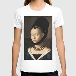 Portrait of a Young Girl by Petrus Christus, 1470 T-shirt