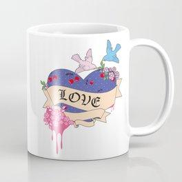 Cherry Heart Coffee Mug