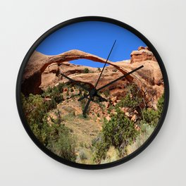 Beautiful Landscape Arch Wall Clock