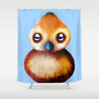 warcraft Shower Curtains featuring PePe by Mr. Stonebanks