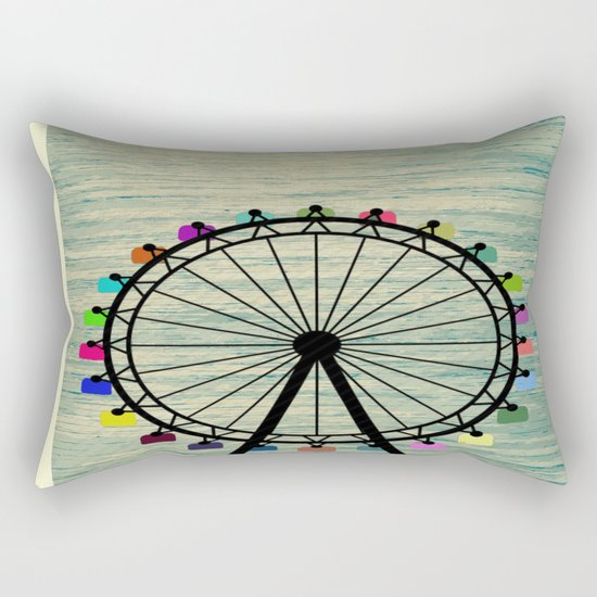 Longing for Summer Rectangular Pillow