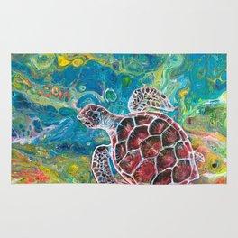 Sea Turtle Dream Rug