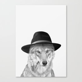 WOODY HUTSON Canvas Print