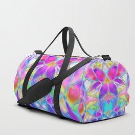 Floral Fractal Art G307 Duffle Bag