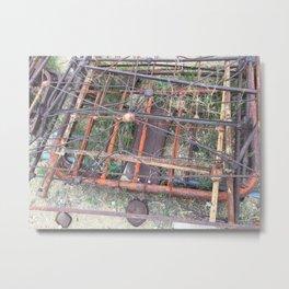 Ghost town rubble Metal Print