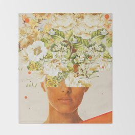 SuperFlowerHead Throw Blanket