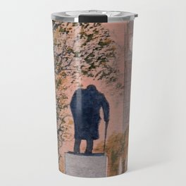 Churchill And Big Ben Travel Mug