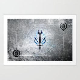 Dragon Age Templar Art Print