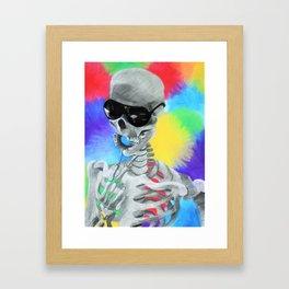A Splash of Death (Original) Framed Art Print