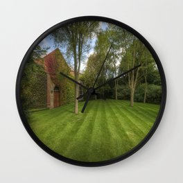 Summer Lines Wall Clock