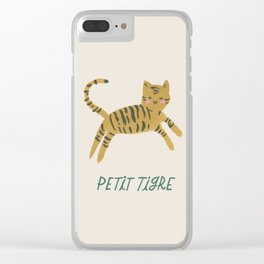 Petit Tigre Clear iPhone Case