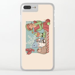 I Know Him Clear iPhone Case