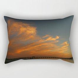 Venice Beach Sunset - Florida Rectangular Pillow