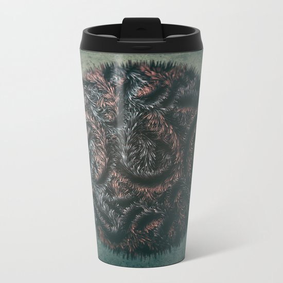 Augmented Furball Metal Travel Mug
