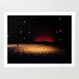Music Box Theatre Art Print