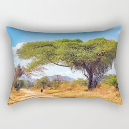 Way through Malawi Rectangular Pillow