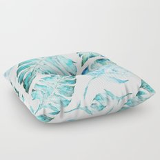 love tropical Floor Pillow