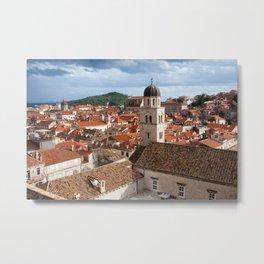 Old Town in Dubrovnik Metal Print