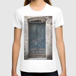 Green Door with Heart T-shirt