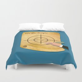 The President Has Constitutional Power To Target And Kill U.S. Citizens Abroad Duvet Cover