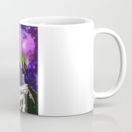 Lady in Space II Coffee Mug