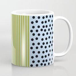 The Blueberry Stripe Blues  Coffee Mug