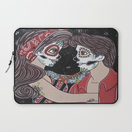 Rockabilly Sugar Skull Laptop Sleeve