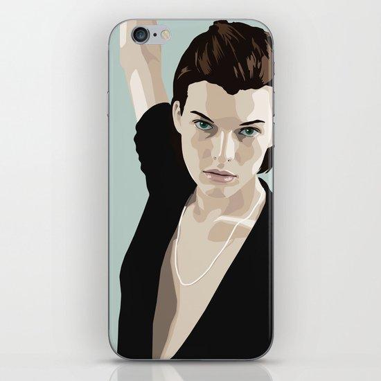 Milla Jovovich iPhone Skin
