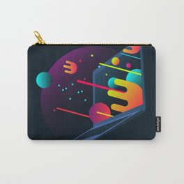 Neon Illustration Carry-All Pouch