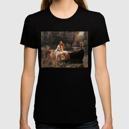 The Lady of Shallot - John William Waterhouse T-shirt